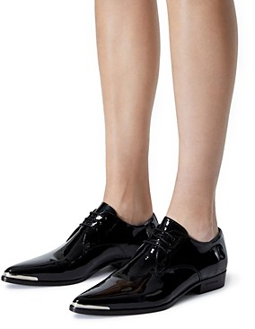 The Kooples Women's Patent Leather Derby Shoes