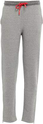 Rag & Bone Best Melange Cotton-blend Fleece Track Pants