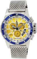 Invicta 80267 Men's Specialty Chronograph Dial Power Reserve Alarm Watch