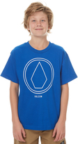 Volcom Boys Pin Line Tee Blue