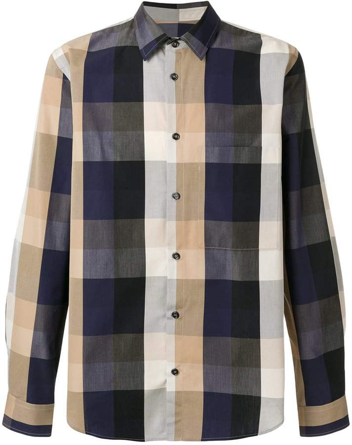 Golden Goose Crosbie check shirt