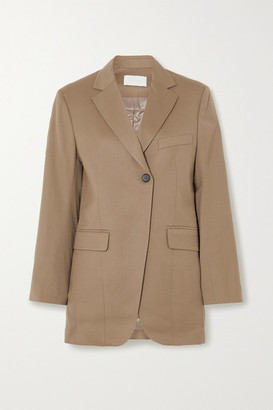 Low Classic Wool-twill Blazer - Beige