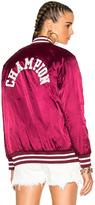 Champion Nylon Jacket in Red.