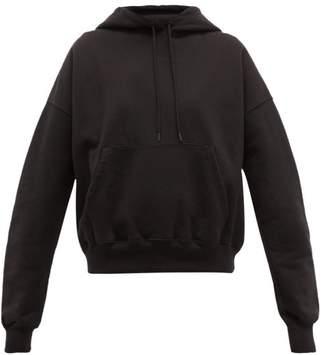 Wardrobe.Nyc Wardrobe.nyc - Release 03 Cotton-jersey Hooded Sweatshirt - Womens - Black