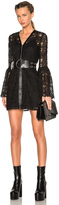 McQ by Alexander McQueen A Line Lace Dress