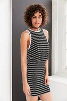 BDG Striped Blouson Mini Dress