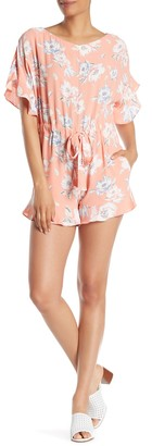 French Connection Cari Floral Frills Romper