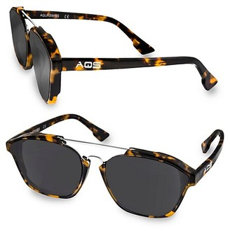Aqs SCOUT 55MM Square Sunglasses