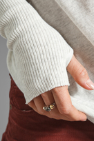 Enza Costa Cashmere Fitted Sweater