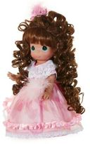 Precious Moments Curly Locks Doll with Brunette Hair