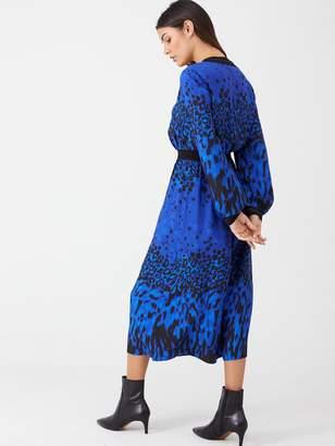 Ted Baker Maryema Topaz Printed Midi Dress - Blue