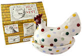 Emma Bridgewater Polka Dot Hen On Nest With Box