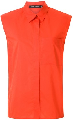 Andrea Marques structured shoulders shirt