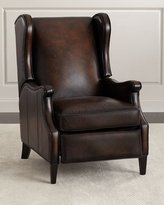 Bernhardt Gallatin Leather Wing Recliner