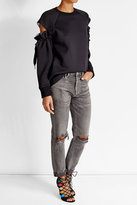 DKNY Top with Cut-Out Shoulders
