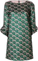L'Autre Chose metallic embroidered dress