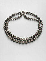 Majorica 8MM-12MM Tahitian Pearl Double-Row Necklace