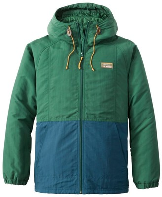L.L. Bean Men's Mountain Classic Insulated Jacket, Colorblock