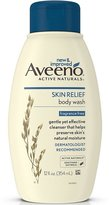 Aveeno Active Naturals Skin Relief Body Wash, Fragrance Free, 12 Ounce