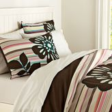 PBteen Stems + Stripes Duvet Cover + Sham