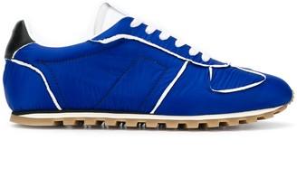 Maison Margiela Contrasting-Trim Low-Top Sneakers