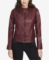 William Rast Rogue Revolution Faux-Leather Biker Jacket