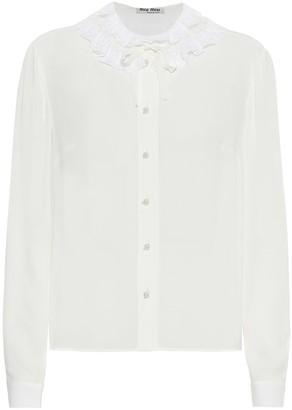 Miu Miu Crepe blouse