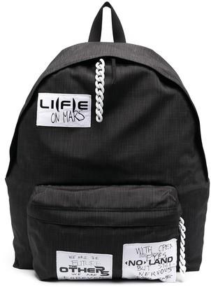 Raf Simons X Eastpak Pak'r XL small check backpack
