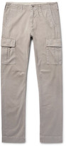 Jean Shop Gene Slim-Fit Cotton-Twill Cargo Trousers