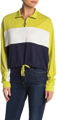 Abound Colorblock Half Zip Pullover Sweater