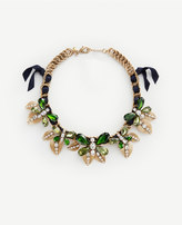 Ann Taylor Butterfly Statement Necklace