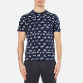 Ymc Wild Ones Pocket Tshirt - Navy