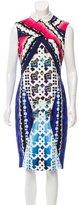 Peter Pilotto Abstract Midi Dress