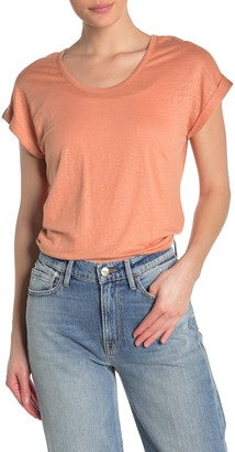 Frame Slouchy Scoop Neck T-Shirt