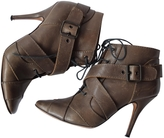Givenchy Grey Leather Ankle boots