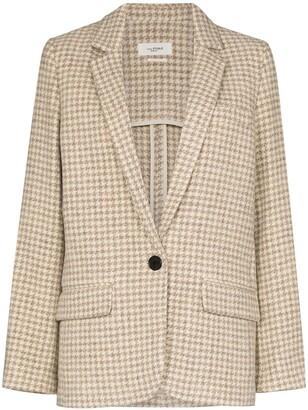 Etoile Isabel Marant Charly checked blazer