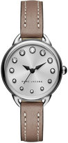 Marc Jacobs Women's Betty Cement Leather Strap Watch 28mm MJ1480