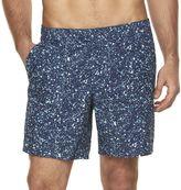 Marc Anthony Men's Slim-Fit Patterned Swim Shorts