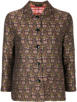 Etro floral buttoned jacket