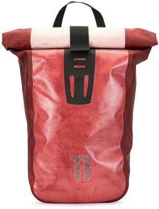 11 By Boris Bidjan Saberi Velocity 2 logo backpack