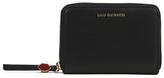 Lulu Guinness Women's Small Zip Around Wallet Black