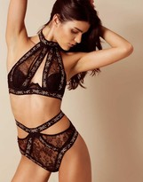 Agent Provocateur Montinah Bra Black And Rose Gold