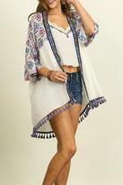 Umgee USA Pom Pom Perfection Kimono
