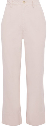Bassike Cotton-canvas Straight-leg Pants