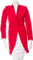Balenciaga Long Sleeve Knee-Length Coat