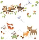 Lambs & Ivy Woodland Tales Wall Appliques