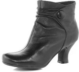 Dorothy Perkins Black button ankle boot