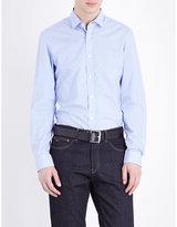 Michael Kors Bentley Slim-fit Cotton Shirt
