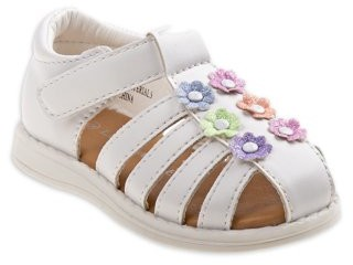 Laura Ashley Flower Cutie Fisherman Sandal (Toddler Girls)