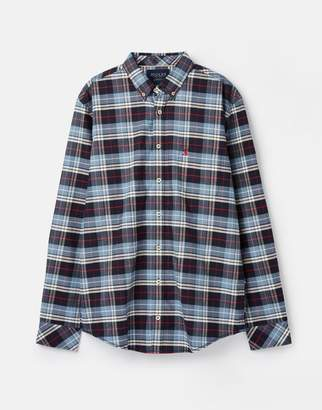 Joules 209587 Long Sleeve Classic Fit Check Shirt